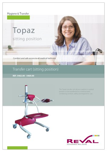 TOPAZ - Transfer cart (sitting position)