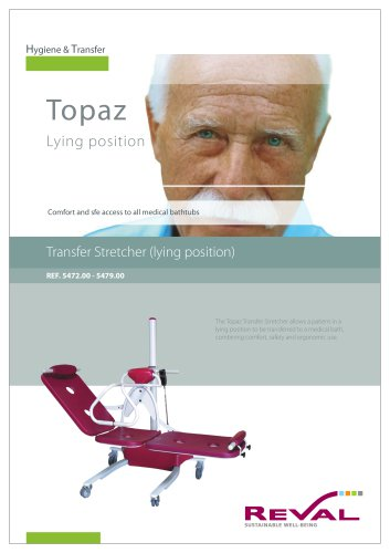 TOPAZ - Transfer Stretcher (lying position)