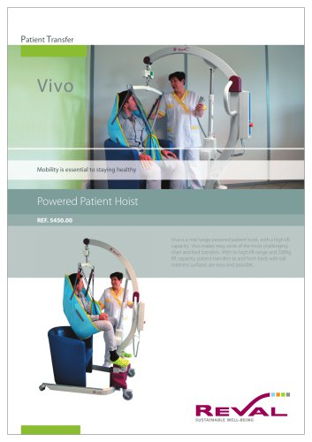 VIVO - Powered patient Hoist