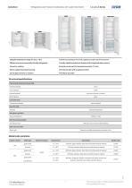 Laboratory refrigerators LC-LG-LX Series