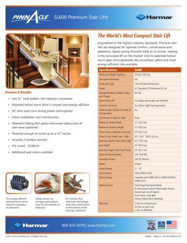 SL600 Premium Stair Lifts