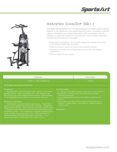 Assisted Chin/Dip S911