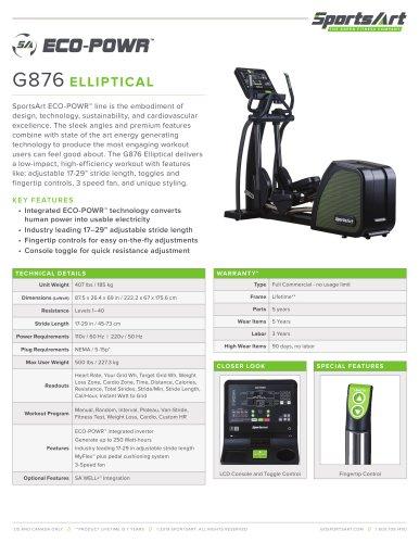 G876 ELLIPTICAL