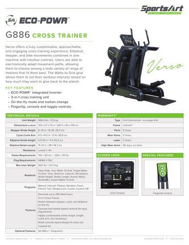 G886 CROSS TRAINER