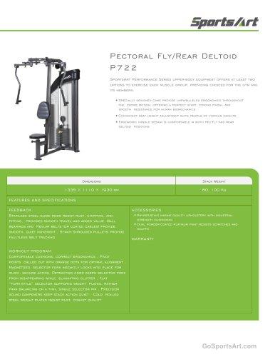 Pectoral Fly/Rear Deltoid P722