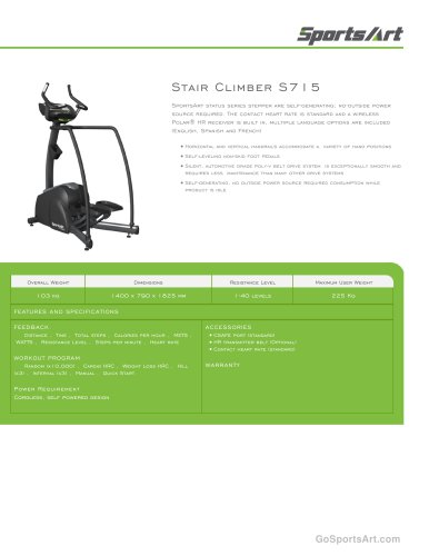 Stair Climber S715