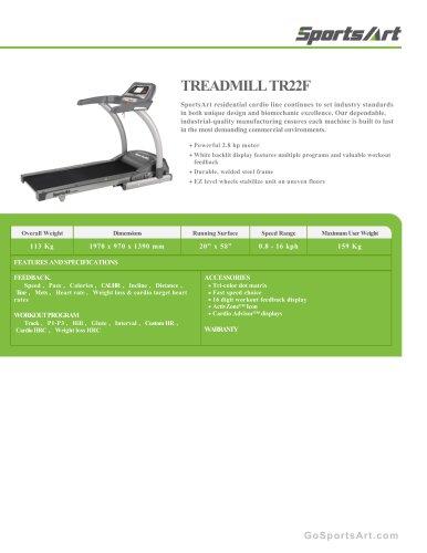 TREADMILL TR22F