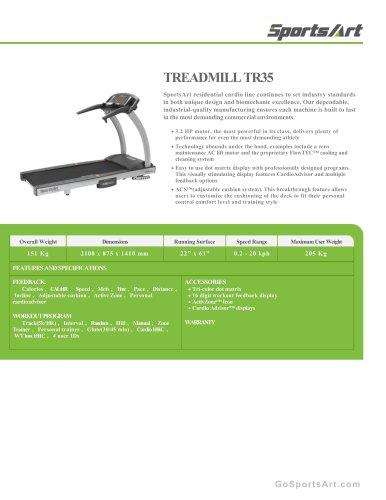 TREADMILL TR35
