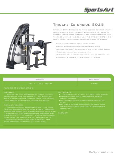 Triceps Extension S925