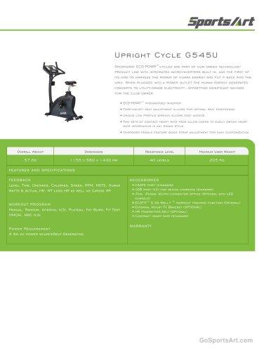 Upright Cycle G545U