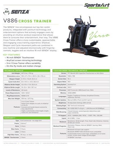 V886 CROSS TRAINER