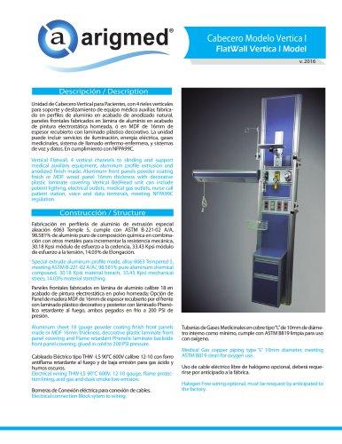 FlatWall Vertica I Model