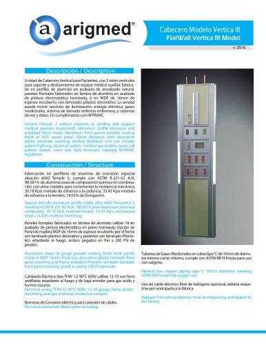 FlatWall Vertica III Model