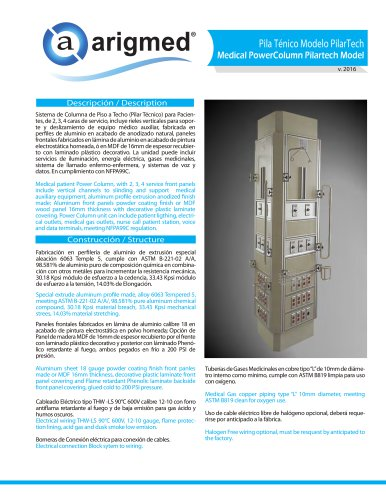 Medical PowerColumn Pilartech Model