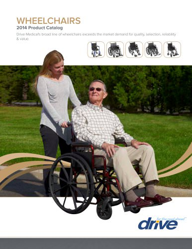 wheelchairs 2014 Product Catalog