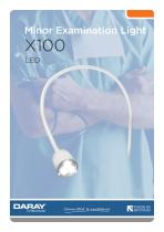 X100 - LED Examination Light
