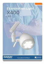 X400 - LED Examination Light