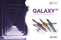 GALAXY Minimally Invasive Spine Screw Fixation