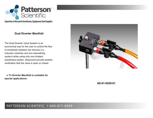 Dual Diverter Manifold brochure PS