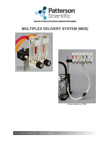 MULTIPLEX DELIVERY SYSTEM ? Product Insert