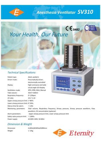 Anesthesia ventilator SV110 and SV310