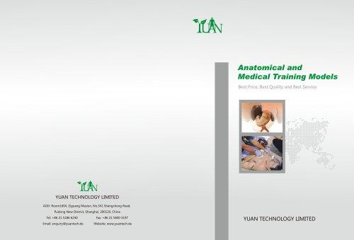 Anatomical ans medical training models