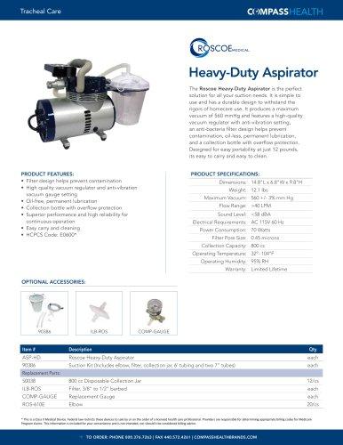 Heavy-Duty Aspirator