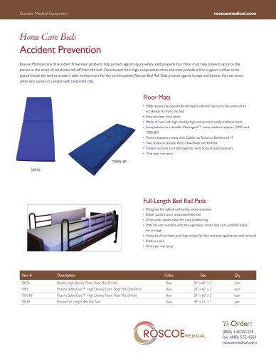 Roscoe High Density Foam Floor Mat