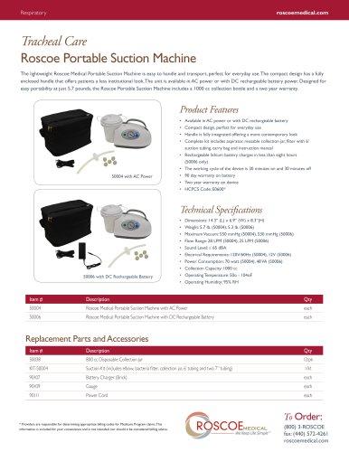 Roscoe Portable Suction Machine