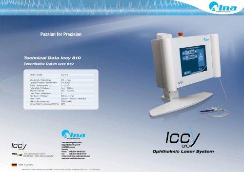 Technical Data Iccy 810