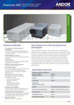 Shamrock 500 Spectrograph