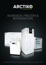 BIOMEDICAL FREEZERS & REFRIGERATORS
