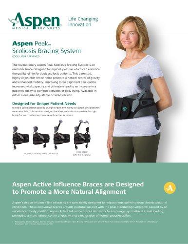 Aspen Peak™ Scoliosis Bracing System