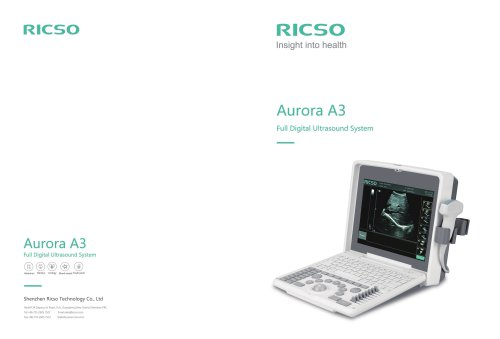 Brochure of Aurora A3