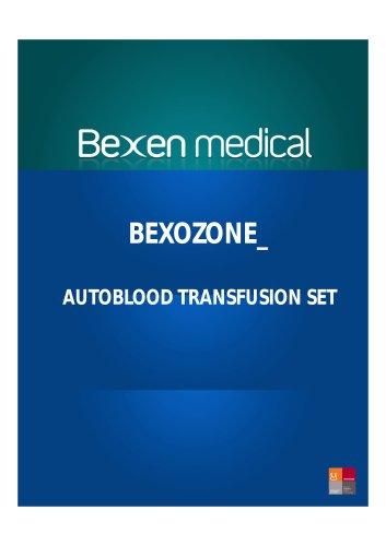 BEXOZONE_ AUTOBLOOD TRANSFUSION SET