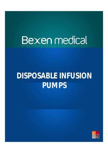 DISPOSABLE INFUSION PUMPS