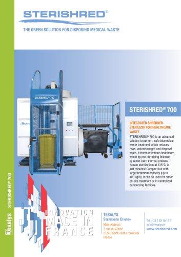 STERISHRED® 700