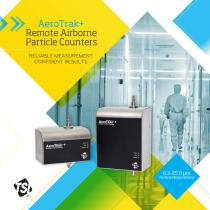 AeroTrak Plus Remote Airborne Particle Counters Brochure