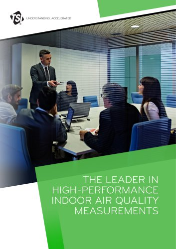 The leader in high-performance indoor air quality measurements