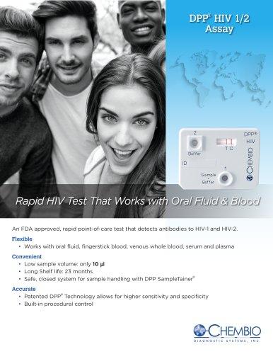 DPP® HIV 1/2 Assay