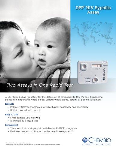 DPP® HIV-Syphilis Assay