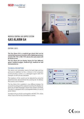 GAS ALARM G4