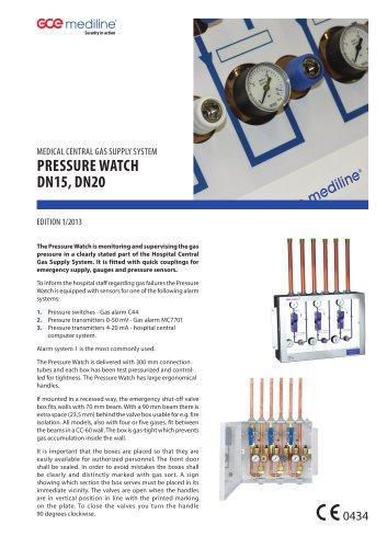 PRESSURE WATCH DN20