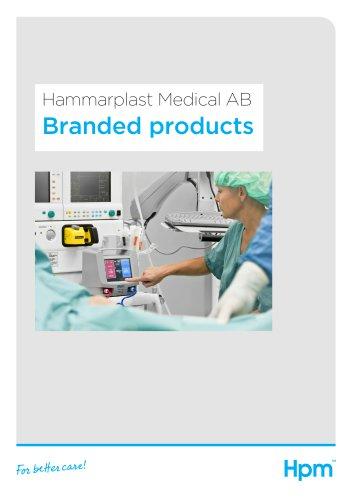 Hammarplast Medical AB Branded products