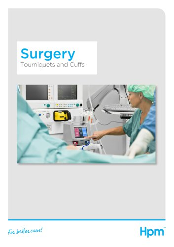 Surgery product brochure