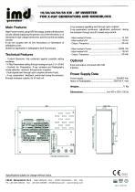 15/30/40/50/65 KW - HF INVERTER FOR X-RAY GENERATORS AND MONOBLOCS - 2