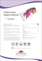 Child & Junior Mattress - Hygiene Mattress with Lentex® - 1