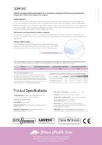 Comfort - Hygiene Mattress with Lentex® - 2