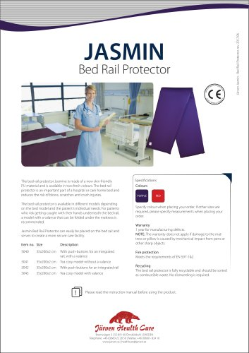 Jasmin Side Rail Shield