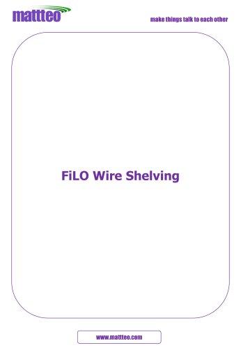 FILO WIRE SHELVING